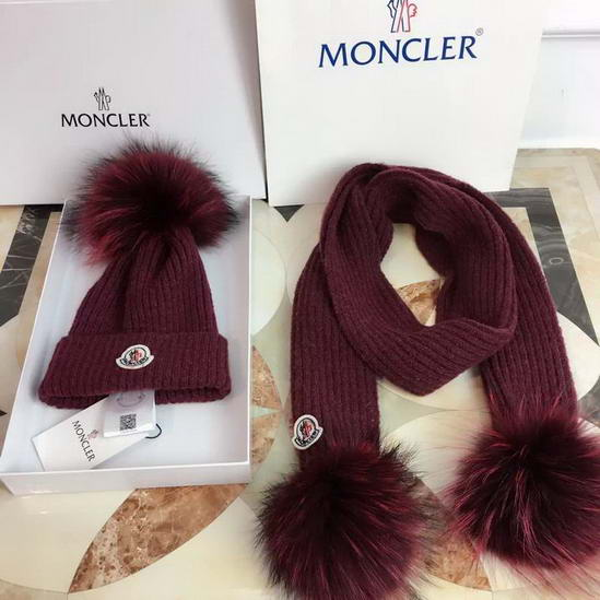 Moncler Cap & Scarve Set Model: 20161221066