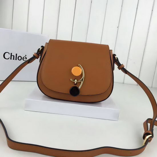Chloe Bag 8801 Tan
