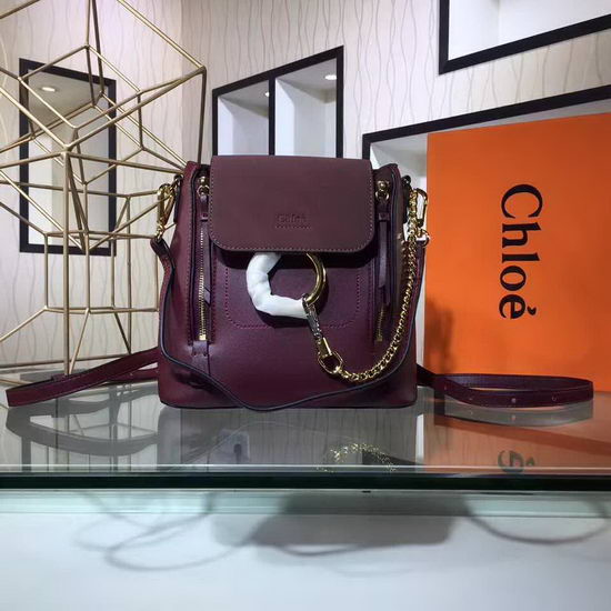 Chloe Bag 4036 Purplish Red