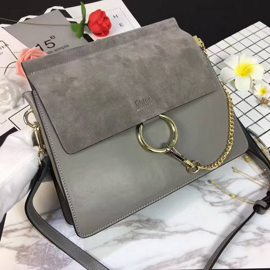 Chloe Bag 17022003 Grey