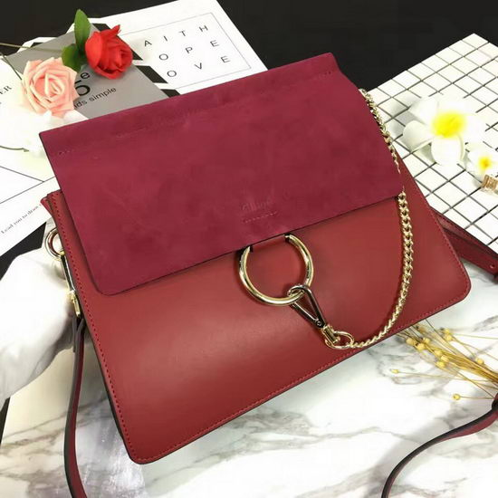 Chloe Bag 17022003 Purplish Red
