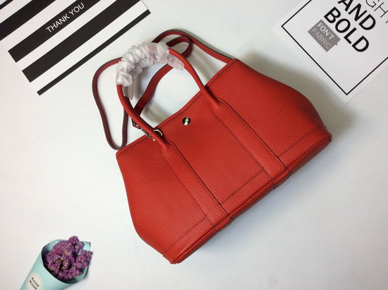 Hermes Bag Garden Party Red