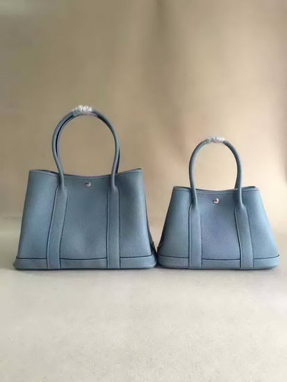 Hermes Bag Garden Party Sky Blue