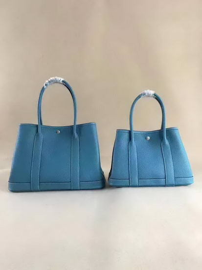 Hermes Bag Garden Party Blue