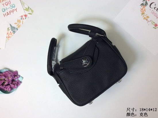 Hermes Bag Hermes Lindy Mini 1028 Black