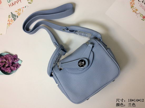 Hermes Bag Hermes Lindy Mini 1028 Grey