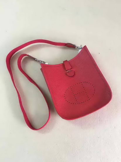 Hermes Bag Evelyne Red