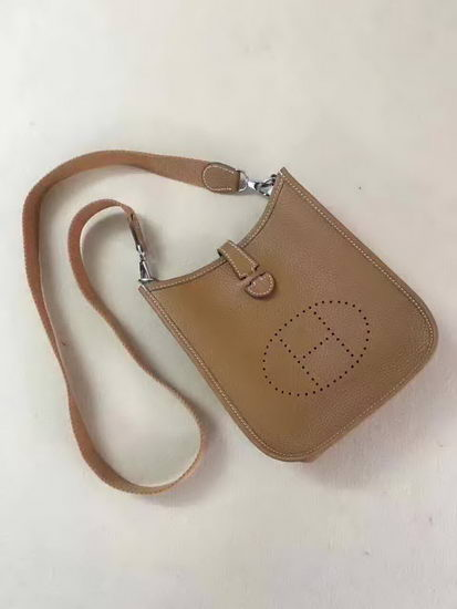 Hermes Bag Evelyne Khaki