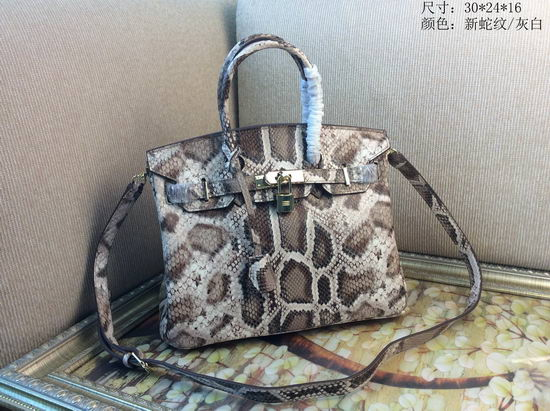 Hermes Bag Birkin Alligator BK2225 Grey