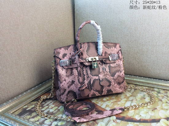 Hermes Bag Birkin Alligator BK2225 Pink