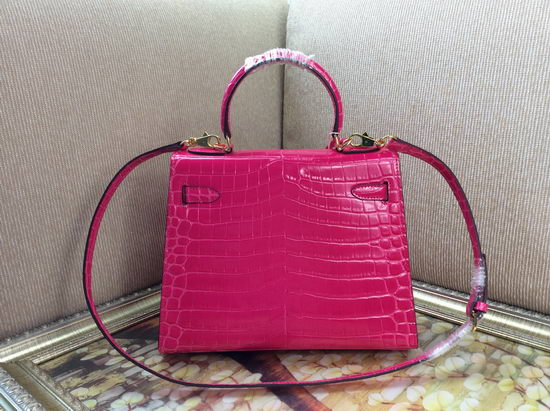 Hermes Bag Kelly 6628 Rose Red