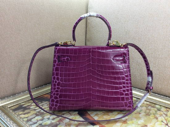 Hermes Bag Kelly 6628 Purple