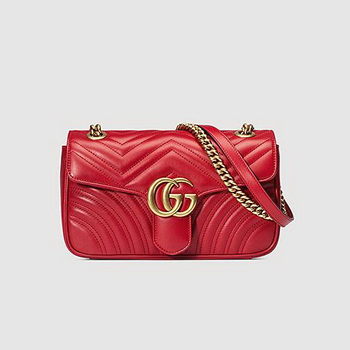 Gucci GG Marmont Red