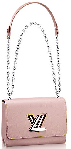 Louis Vuitton Twist MM M50282 Pink