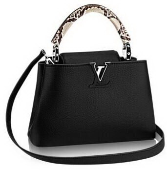 Louis Vuitton CAPUCINES BB N92040 Black