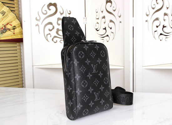 Louis Vuitton Axelvaska Damier Graphite