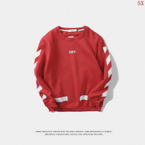 Off White Sweat Unisex ID:20171115253