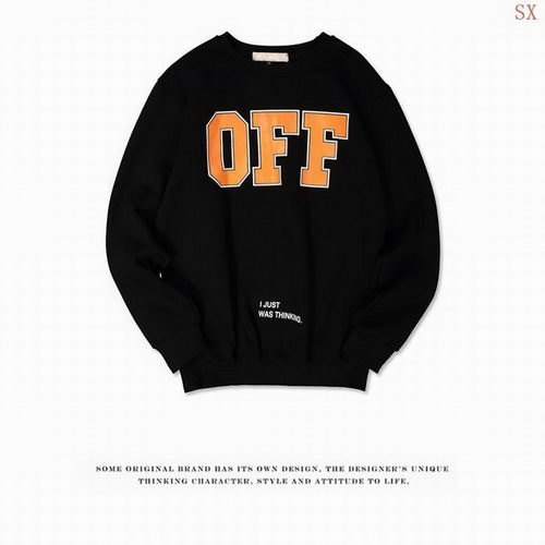 Off White Sweat Unisex ID:20171115262