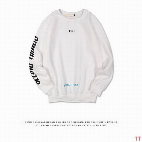 Off White Sweat Unisex ID:20171115268