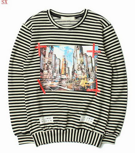 Off White Sweat Unisex ID:20171115279