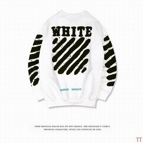 Off White Sweat Unisex ID:20171115283