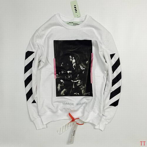 Off White Sweat Unisex ID:20171115286