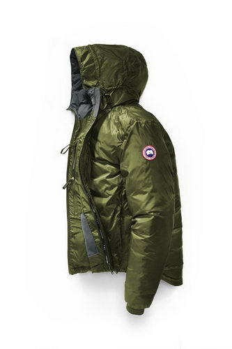 Canada Goose Jacket 2017 Mens PBI LODGE HOODY Green