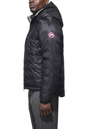Canada Goose Jacket 2017 Mens PBI LODGE HOODY Black