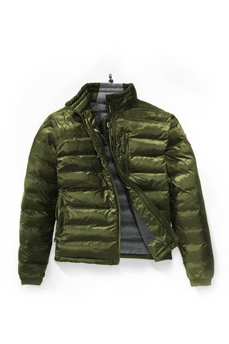 Canada Goose Jacket 2017 Mens LODGE DOWN JACKET Green