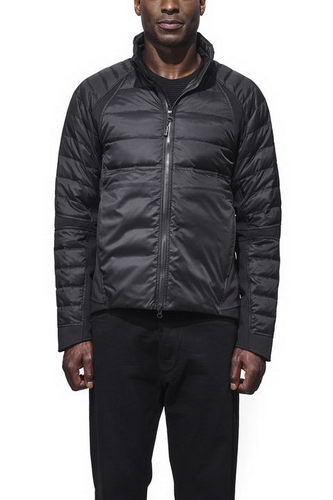 Canada Goose Jacket 2017 Mens HYBRIDGE PERREN JACKET Black