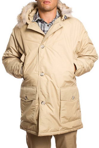 Woolrich Down Parka W05 Mens Arctic Anorak Off White