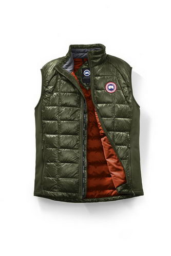 Canada Goose Jacket 2017 Mens HYBRIDGE LITE VEST BLACK LABEL Green