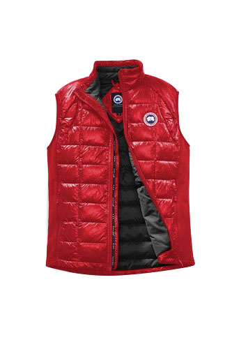Canada Goose Jacket 2017 Mens HYBRIDGE LITE VEST BLACK LABEL Red