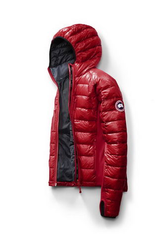 Canada Goose Jacket 2017 Mens HYBRIDGE LITE HOODY Red