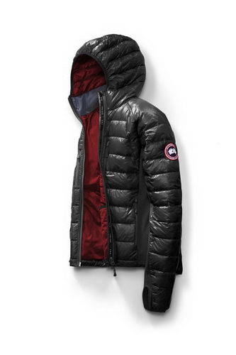 Canada Goose Jacket 2017 Mens HYBRIDGE LITE HOODY Black