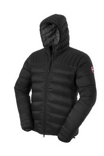 Canada Goose Jacket 2017 Mens BROOKVALE HOODY Black