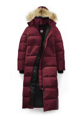 Canada Goose Jacket 2017 Wmns E18 Date Red