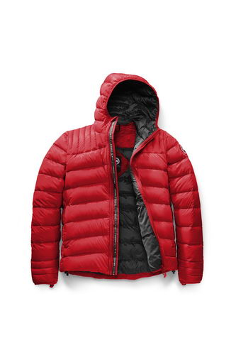 Canada Goose Jacket 2017 Mens BROOKVALE HOODY Red
