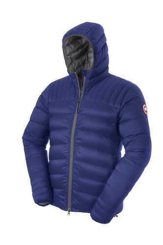 Canada Goose Jacket 2017 Mens BROOKVALE HOODY Blue