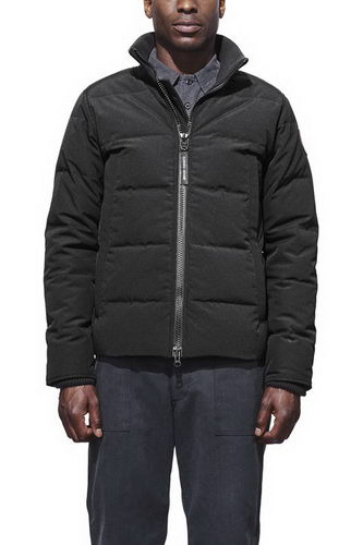 Canada Goose Jacket 2017 Mens WOOLFORD COAT Black