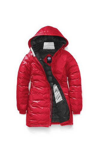 Canada Goose Jacket 2017 Wmns HYBRIDGE LITE COAT Red