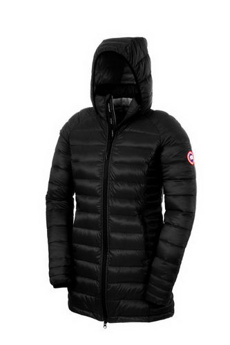 Canada Goose Jacket 2017 Wmns BROOKVALE HOODED COAT Black