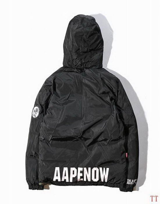 B Aape Winter Jacket Mens ID:2017122162