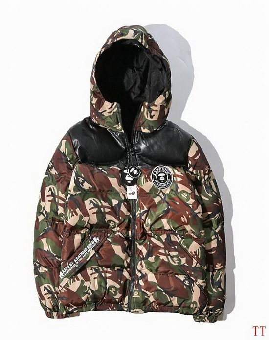 B Aape Winter Jacket Mens ID:2017122163