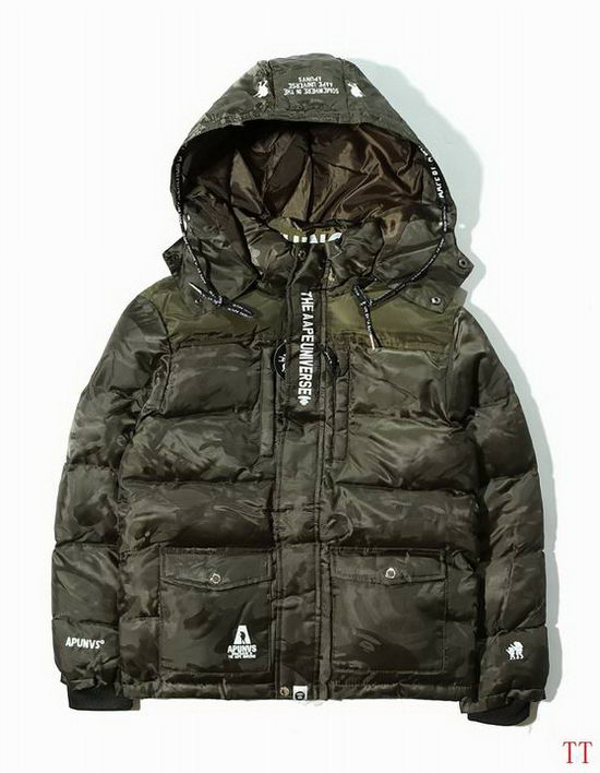 B Aape Winter Jacket Mens ID:2017122164