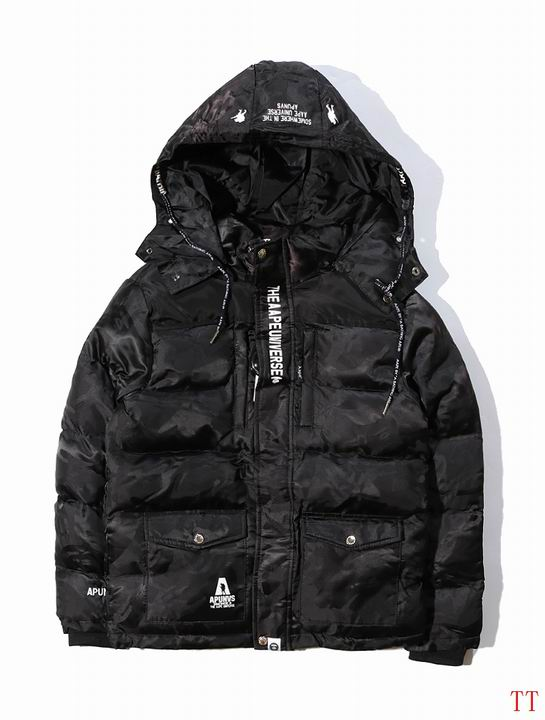B Aape Winter Jacket Mens ID:2017122166