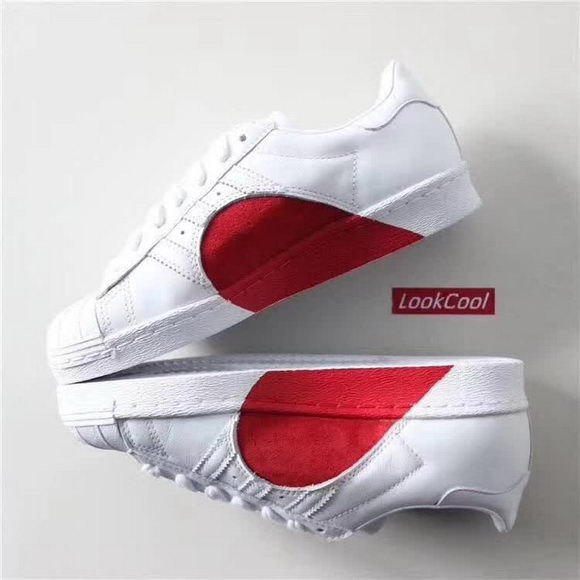 Adidas X Red Heart SUPERSTAR 80s HH W Unisex