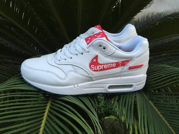 Nike X Supreme Unisex White/Red