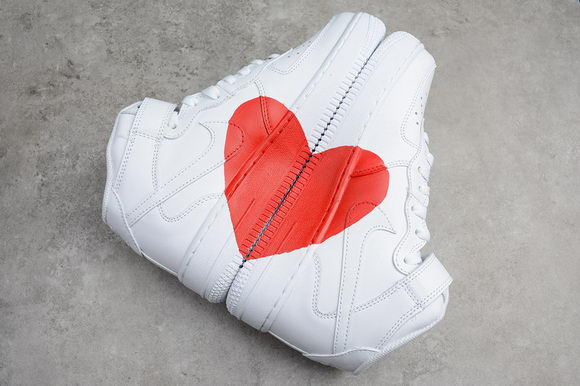 Nike Air Force 1 High Top X Red Heart Unisex