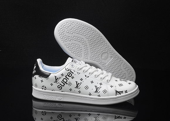 Adidas Originals Stan Smith x LV Unisex White/Black